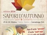 Sapori d'Autunno – Sport e Solidarietà, Cannalonga il 25 e 26 Ottobre 2014